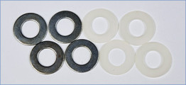 Nylon and Steel Washer Set
