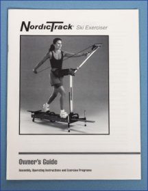 NordicTrack Skier Manual
