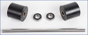 Driveroller Set, Flywheel Axle and Side Board Bearings