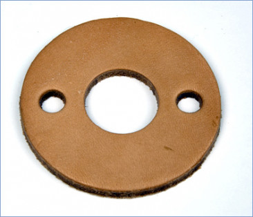 Club 900 Arm Exerciser Round Resistance Leather Pad