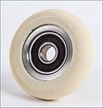 White Foot glide wheel (older style only)